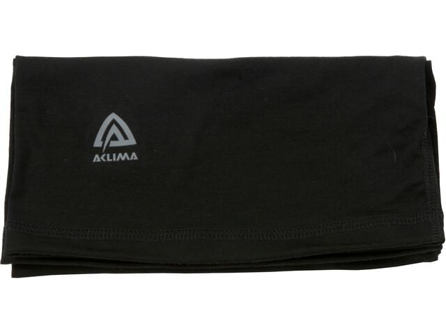 Aclima Lightwool Headover jet black